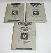 1987 Dodge Ram Van Caravan Plymouth voyager Service Manuals  USED CONDITION