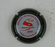 capsule champagne RACLOT marinette n°48d rouge contour noir