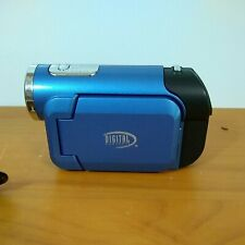 Digital Concepts Blue Video Camera, With Manual, Tested and working