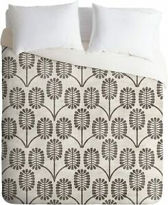 Urban Outfitters Holli Zollinger DENY Thistle Duvet Cover Set Sham Curtains King