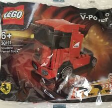lego 30191 Ferrari scuderia truck shell v power Brand New