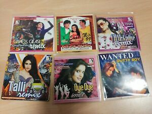 Bollywood / Bhangra Remix Mix Hindi Dj Remix CDS Joblot Listing 6CDS