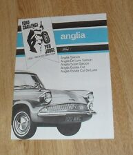 Ford Anglia Brochure 1964-1965 UK Market