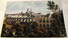 Switzerland Lausanne de Jadis Grand pont Cathedrale GAL50 IRIS posted 1975