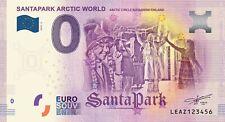 Billets Euro Schein Souvenir Touristique 2019 Santa Park ELF