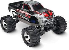Traxxas Stampede 4x4 Silber RTR Brushed RC Monster Truck 12V Lader Akku 67054-1