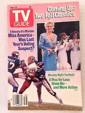 Tv Guide Magazine Monday Night Football September 2-8 1989 021917RH