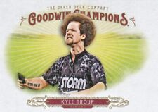 2018 Upper Deck Goodwin Champions Trading Card, #82 Kyle Troup