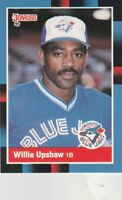 FREE SHIPPING-MINT-1988 Donruss #271 Willie Upshaw Toronto Blue Jays Baseball Cd