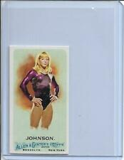 2010 ALLEN & GINTER SHAWN JOHNSON MINI A&G BACK GYMNASTICS CARD #236 ~ MULTIPLES
