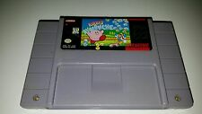 KIRBY'S AVALANCHE Super Nintendo SNES Game Cart Tested, FREE SHIPPING!