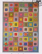 PATTERN - Stepping Stones - EPP pieced quilt PATTERN - Focus on Quilts