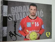 Goran Stojanovic, Rhein-Neckar-Löwen, Handball, original Autogramm