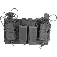 Viper Tactical Modular MOLLE Mag Rig Rifle & Pistol Magazine Pouch Set Grey