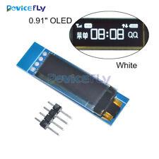 0.91'' 128x32 IIC I2C OLED LCD Display DIY Module 3.3V 5V For PIC Arduino White