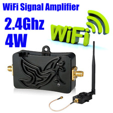 2.4GHz 4W 802.11n Wireless WiFi Signal Extender Range Booster Amplifier Repeater