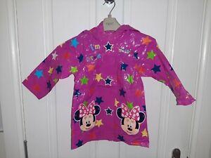 Girls Rain Coat Mini Mouse Disney Store 18-24 Mths