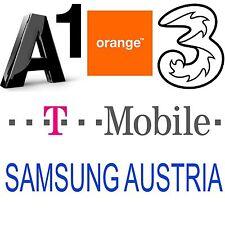 AUSTRIA SAMSUNG GALAXY S7 S7 EDGE S6 S5 S4 A5 A3 J5 J3 J2 NOTE 5 4 3 UNLOCK CODE