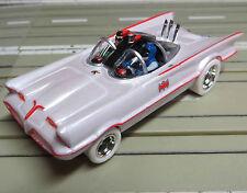 für Slotcar Racing Modellbahn - Batmobile mit 4 Gear Chassis,kostenloser Versand