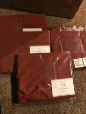 Potterybarn Saybrook Slipcovers New Set Of 4 Dining Chair Rust