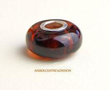 Amber Trolls Genuine Baltic Amber & 925 Silver Charm -CHA69 RRP£40!!!