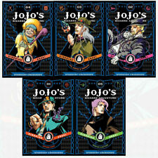 Jojo's Bizarre Adventure Series 3 Collection 5 Books Set Pack By Horihiko Araki