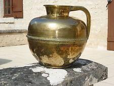 ANCIENNE CANNE LAIT CUIVRE- LAITON 19 éme  ANTIQUE COPPER  19 th NORMANDY BRASS