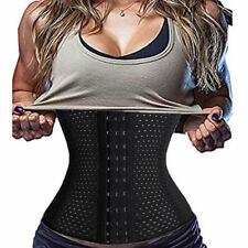 UK Waist Tummy Girdle Belt Sport Body Shaper Trainer Control Corset Weight Loss