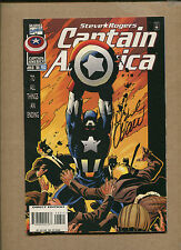 Cap #453A -Signed By Mark Waid- 1996 (Grade 8.0/8.5) Wh