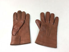 AMCREST Leather Driving Gloves Mens Medium Made in Italy
