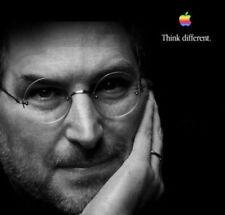 Think Different 22x30 Steve Jobs 2 BIG Art Print Apple iphone & imac creator