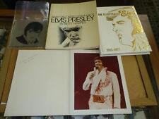 ELVIS PRESLEY BOOK MIRROR CALENDER PHOTO LOT OF  7 DIFFERENT