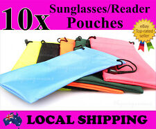 Hi Quality 10xWaterproof Nylon Dust Pouch Bag Sunglasses Reading Glasses Case
