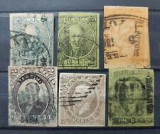 MÉXICO . 6 sellos antiguos . ALTO VALOR