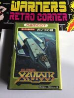 Nintendo Famicom Super Xevious Game W/ Manual Boxed