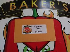 Naga Viper Red Hot PEPPER SEEDS -  20+ Seeds