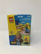 Busy Bob the Builder 3279 Lego Explore Duplo Preschool 2002 New Sealed