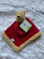 Disney Baby Winnie Pooh Lovey Security Blanket Rattle Bear