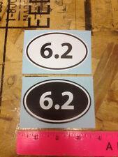6.2 mile (10k) Run sticker decals - 2 for 1