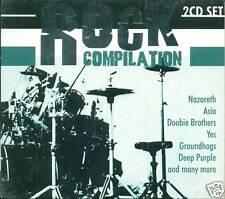ROCK COMPILATION DEEP PURPLE ASIA OUI DOUBLE CD E477