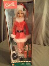 Christmas Barbie - Santa's Helper. 2004. New. Nrfb.
