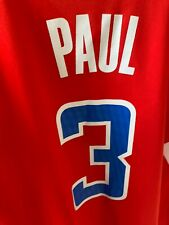 Nba Los Angeles Clippers Basketball Chris Paul #3 Swingman Jersey L!