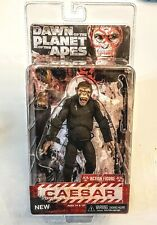 """CAESAR Dawn of Planet of the Apes NECA 7"""" Collectible Action Figure Sealed PKG"""