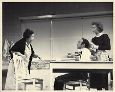"Uta Hagen ""TOVARICH"" Herbert Berghof / Edna Preston 1952 City Center Press Photo"