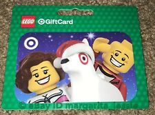TARGET CHRISTMAS 2017 GIFT CARD LEGO WITH BULLSEYE DOG NO VALUE NEW