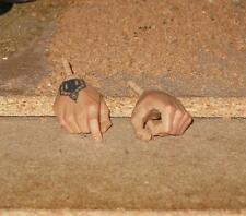 1/6 HOT DAM Toy Gangsters Kingdom Set of Hands - with Tattoo