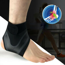 Ankle Brace Support Compression Sleeve Foot Wrap Plantar Fasciitis Pain Relief