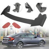 Primer Black Rear Lid Wing Spoiler for 16-20 Honda Civic Sedan