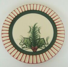 "GAIL PITTMAN Hollylujah 11"" Dinner Plate 1995 SIGNED NWT"
