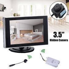 NEW Hidden Pinhole Mini Wireless Nanny Camera Home Security System Micro Spy Cam